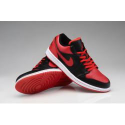 Кроссовки Air Jordan 1 phat low red